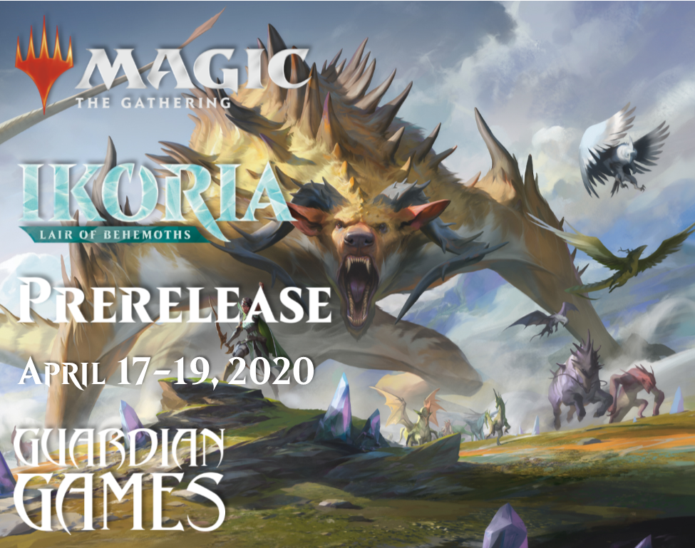 Magic the Gathering Ikoria Prerelease